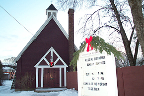 Anglican Church, La Tuque. (Photo - Dwane Wilkin)