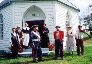 Saint-Jacques-de-Leeds Historic Site. (Photo - Corporation du patrimoine du Canton de Leeds
