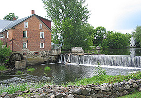 Cornell Mill, now the Missisquoi Museum. (Photo - Matthew Farfan)